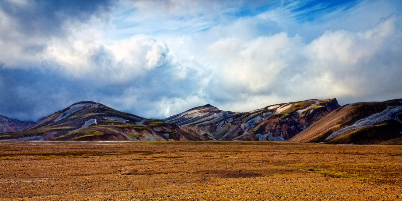 Colours of Iceland: Rhyolite